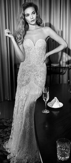 Lihi Hod 2015 Wedding Dress - Antique Violet