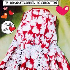 #Facebook Dogncatclothes #line pupanisara #Instagram charottan #Twitter charottan