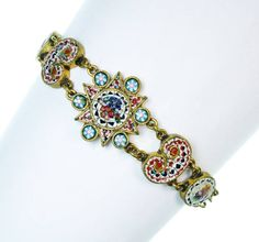 Armband mit Millifiorieinlage, Italien - Auction