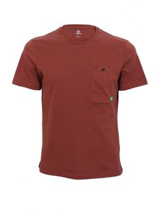 a238fc201 Buy MA-Strum Jersey Pocket T.Shirt in Burnt Orange at Northern Threads - We  are now offering off your first full price order over