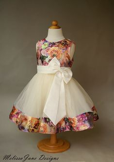 baby girl party dresses Such A sweet Girls Dress for that special occasion Made with Faux Silk Satin super soft to the touch, tie double sided satin ribbons tie up at the back ( Kids Party Wear Dresses, Kids Dress Wear, Kids Gown, Little Girl Dresses, Girls Dresses, Baby Frocks Designs, Kids Frocks Design, Baby Girl Dress Patterns, Baby Dress