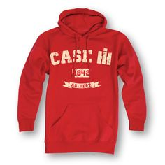 Case IH 1842 Red Men's Pullover Hoodie