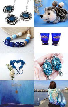 About blue by Marlena Rakoczy on Etsy--Pinned with TreasuryPin.com