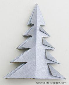 Origami, Creative Depot, Komfort, Link, Xmas, Diy Christmas Tree, Step By Step Instructions, Diy, Book Folding