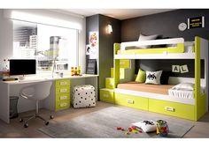 Dormitorio Infantil con Literas 203-3152015