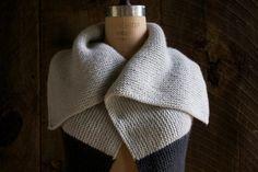 Sideways Garter Vest | The Purl Bee