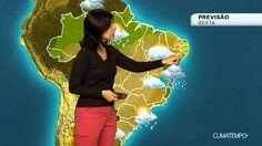 Previsão Brasil - Muita umidade e chuva ainda na costa do país