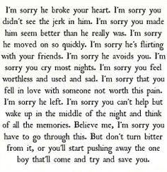 The perfect words to help a broken friend.