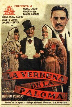 LA VERBENA DE LA PALOMA Verbena, Film Movie, Movies, Movie Posters, Grande, Madrid, Tv, Film Posters, Carp
