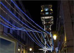 illuminations de Noël à Lisbonne