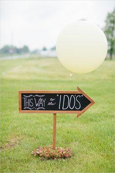 wedding sign ideas @weddingchicks