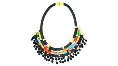 Mariachi Chain Plate Necklace   AHAlife