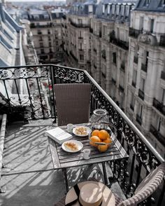 From @BeigeRenegade Instagram Let this be one of those #Parisian rooftop balcony kind of weekends. #paris