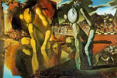 Salvador Dali - Metamorfose van Narcissus 1937