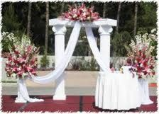 wedding ceremony flowers wedding altar decorationswedding
