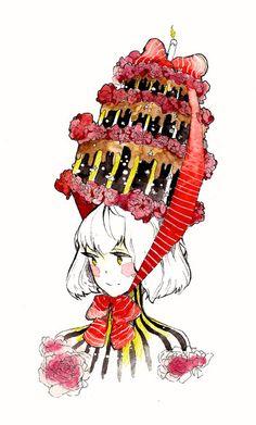 Cake by Na0h.deviantart.com on @deviantART