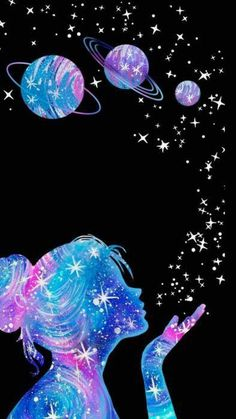 Antonio Graves galaxy wallpaper - Tapeten Ideen - Kunsts World Cute Galaxy Wallpaper, Planets Wallpaper, Cute Girl Wallpaper, Neon Wallpaper, Wallpaper Space, Cute Disney Wallpaper, Cute Wallpaper Backgrounds, Wallpaper Iphone Cute, Pretty Wallpapers