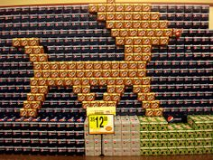Cool Soda Display at the Grocery Store