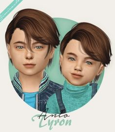 Anto Tyron hair kids & toddlers by Simiracle for The Sims 4 Anto Tyron hair kids & toddlers by Simir Sims 4 Toddler Clothes, Sims 4 Cc Kids Clothing, Toddler Outfits, Toddler Girls, Kids Boys, Girl Outfits, Kids Hairstyles Boys, Boy Hairstyles, Cute Hairstyles For Medium Hair
