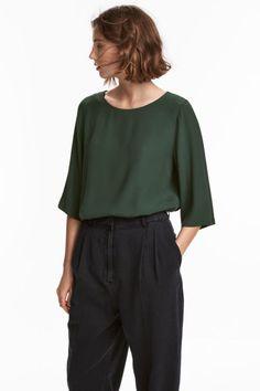 Bluză cu mâneci scurte Model
