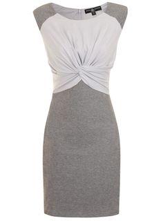 Dorothy Perkins Robe moulante grise | Femmes - Vêtements - Robes
