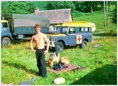 Kinloss Mountain Rescue Team #Tom MacDonald (me) #Glen Lochay base 1973.