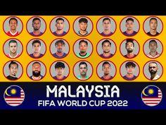 Malaysia National Football Team, National Football Teams, World Cup 2022, Fifa World Cup, International Football, Squad, Youtube, Youtubers, Classroom
