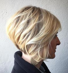 Stacked+Tousled+Bob