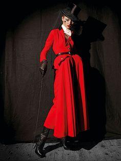 John Galliano for Christian Dior Couture - Photo by Patrick Demarchelier John Galliano, Galliano Dior, Couture Mode, Dior Couture, Couture Fashion, Patrick Demarchelier, French Fashion, High Fashion, Vintage Fashion