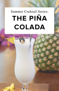 Throwing it back to warmer weather with this classic Piña Colada recipe. Cannot wait to be sipping these next to the pool or making a batch to share with friends.