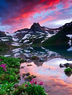 Reflection - Upper Ice Lake Basin, Colorado