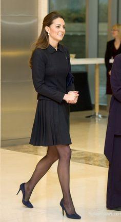 pleated skirt suit