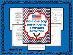 Classroom Freebies: 9/11 Hero Poems and Writing Activities