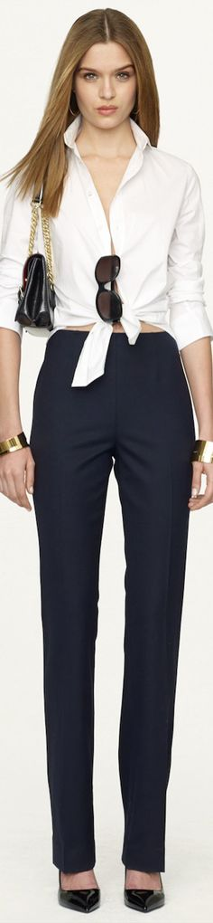 Ralph Lauren Black Label Spring 2014