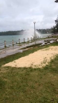 Port Vila bay on a windy morning