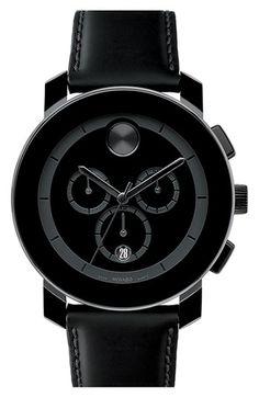 Movado 'Bold Chrono' Watch - $495