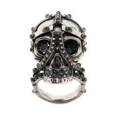 Harness Skull Ring