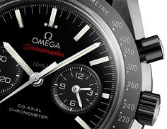 OMEGA Speedmaster »The Dark Side of the Moon« - 12-hour and 60-minute counters on the same sub-dial