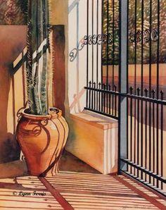Artodyssey: Lynn Ferris - Watercolor