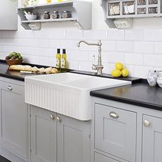 Farmhouse Kitchen Sink White   Single Bowl Fireclay With Apron Front    Undermount Or Overmount Design   Reversible   30 Inches