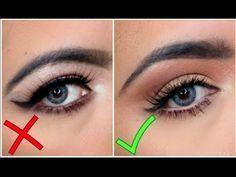 Eyeliner on Hooded Eyes Hooded Eye Makeup, Eye Makeup Tips, Skin Makeup, Makeup Ideas, Droopy Eyes, Rave Makeup, Beauty Make-up, Pinterest Makeup, Beautiful Eye Makeup