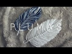 Plumas De Hilo/ Feathers made out of yarn - Free Online Videos Best Movies TV shows - Faceclips Macrame Art, Macrame Projects, Macrame Knots, Micro Macrame, Macrame Jewelry, Crochet Feather, Crochet Flowers, Jute Crafts, Handmade Crafts
