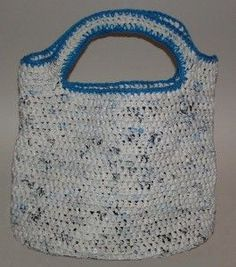 recycled plastic flat bottom tote bag instructions