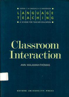 Classroom interaction / Ann Malemah-Thomas