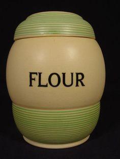 T.G. Green 'Streamline' Flour jar