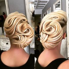 """""""Another unique Updo by me #artak_hairstylist #vegas_nay @vegas_nay  #wakeupandmakeup @wakeupandmakeup  #hudabeauty @hudabeauty  #americansalon @american_salon"""" Photo taken by @artak_hairstylist on Instagram, pinned via the InstaPin iOS App! http://www.instapinapp.com (09/05/2015)"""