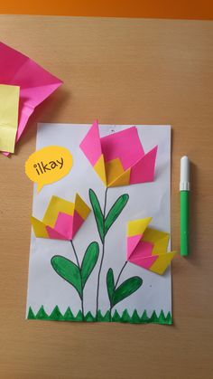 Flower card idea