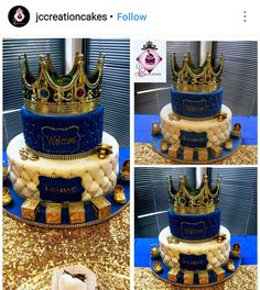 Royal Prince Babyshower Cake