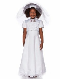 2e2ecc77c MyGirlDress brings you a beautiful selection of elegantly crafted angelic First  Communion Dresses to make your daughter look most adorable on her special  ...
