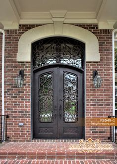 Decorative Accessories:  Wrought iron detailing on front - Classical Eclecticism {Chapter 12}